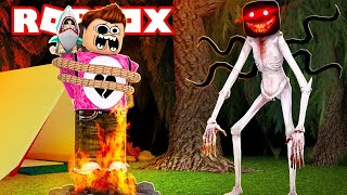 ROBLOX CAMPING 61 🔥 ? THE MONSTER FIRES ME