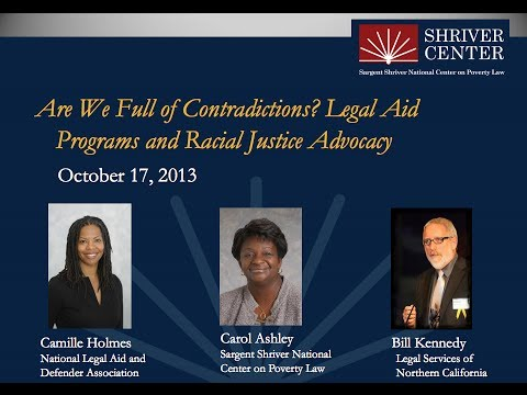 Are We Full of Contradictions?  Legal Aid Programs and Racial Justice Advocacy