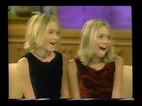 The Olsen Twins On Donny & Marie - 1999