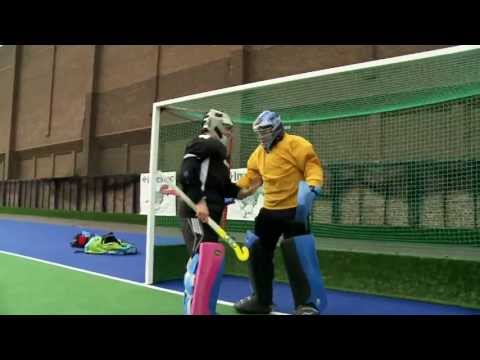 London 2012: Field Hockey Goalkeeper Beth Storry