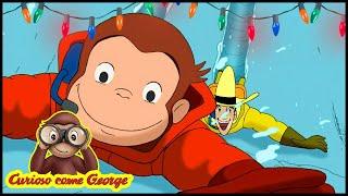 Curioso come George ⛄Episodi di Natale - Avventura in Antartide🎄Cartoni 🐵George la Scimmia