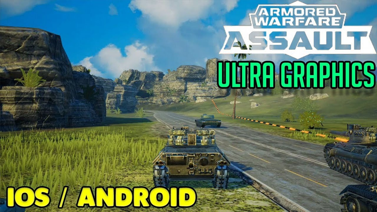 Pubg Mobile Android Ios Gameplay Ultra Graphics: ARMORED WARFARE ASSAULT