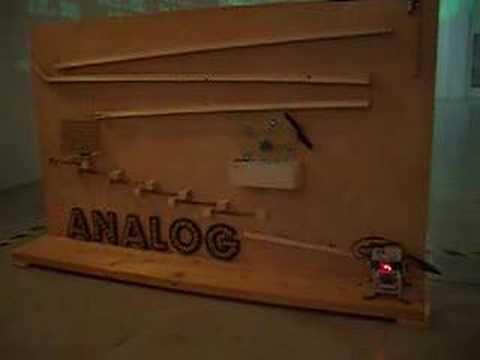 The Incredible Machine - ANALOG vs DIGITAL. MILANO