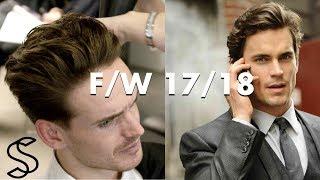 Mens hairstyle for winter 2018 - Matt Bomer inspired haircut 4k UHD
