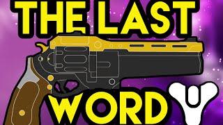 Destiny Lore: The Last Word (Thorn Part 2) AND Sneek Peek
