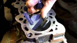 Хонинговка двигателя после расточки. 4G93T