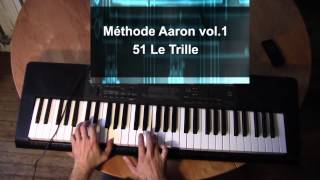 Michael Aaron Méthode de Piano vol. 1 - 51. Le Trille