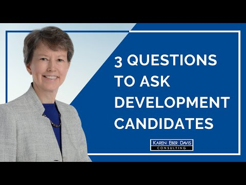 Three Smart Questions to Ask Development Candidates in Interviews: Added Value
