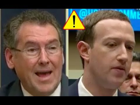 Congressman DOESN'T TRUST Mark Zuckerberg! Says Facebook's Algorithms Are BIASED!