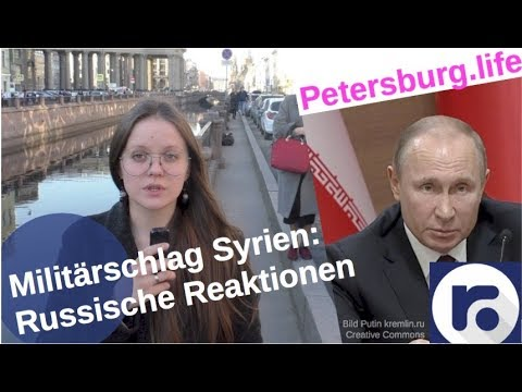 Militärschlag in Syrien: Putins und russische Reaktionen