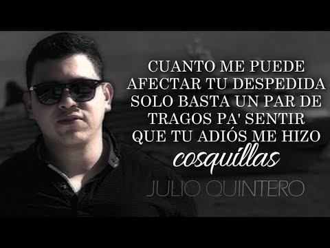 (LETRA) ¨LA BASURA¨ - Julio Quintero (Lyric Video)