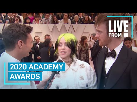 """Billie Eilish Is Speechless At 2020 Oscars: """"It's Crazy""""    E! Red Carpet & Award Shows"""