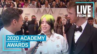 Billie Eilish Is Speechless At 2020 Oscars: \