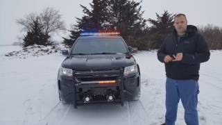 2017 Police Interceptor Utility Build