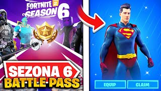 KAKO CE IZGLEDATI BATTLE PASS U FORTNITE SEZONI 6?!