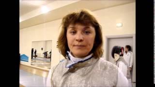 О фехтовании рассказала Инесса Родионова – обаятельная женщина с красивой улыбкой