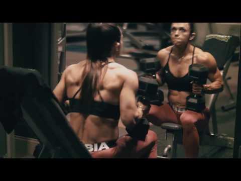 Oksana Grishina body transformation for Olympia 2016