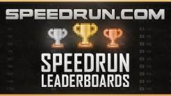 Speedrun.com Leaderboards and World Records