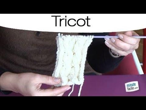 Comment faire une torsade r versible youtube - Comment faire des torsades au tricot ...