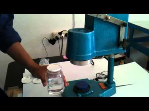 Seal Tutup Botol Segel Botol Dengan Mesin Heat Sealer
