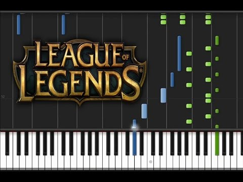 League of Legends - The Curse of the Sad Mummy Synthesia Tutorial