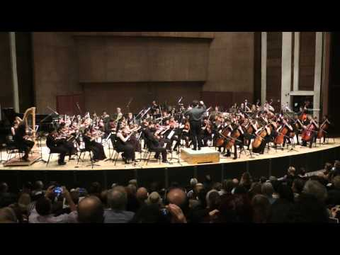 Young Israel Philharmonic  Orchestra in Moldau by Smetana