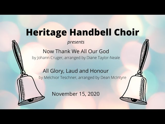 Heritage Handbell Choir - November Ministry of Music