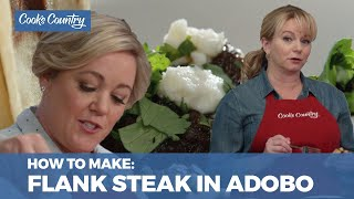 How to Make Flank Steak In Adobo