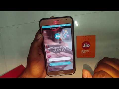 Reliance Jio sim for any device - TRICK Shown on Galaxy J7