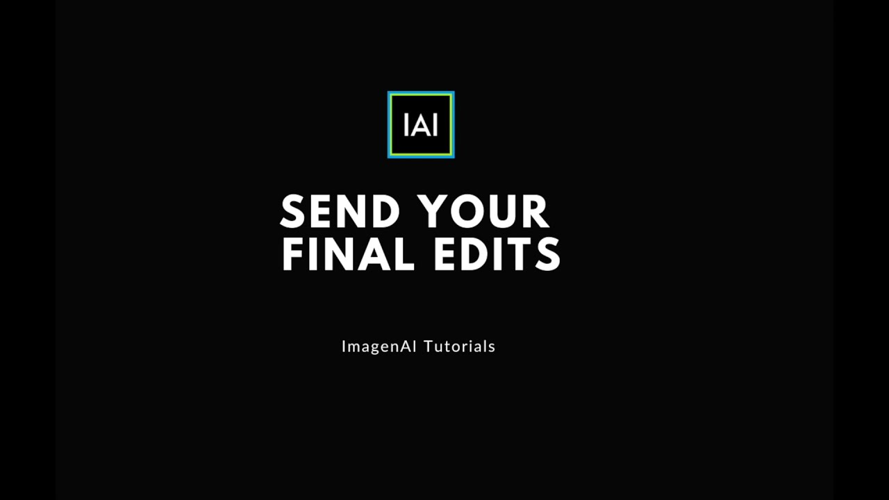 CREATOR | Send your final edits