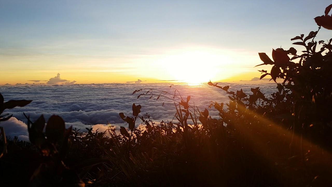 Cloud Lawu Summit Puncak Via Candi Cetho Karanganyar Timelapsed