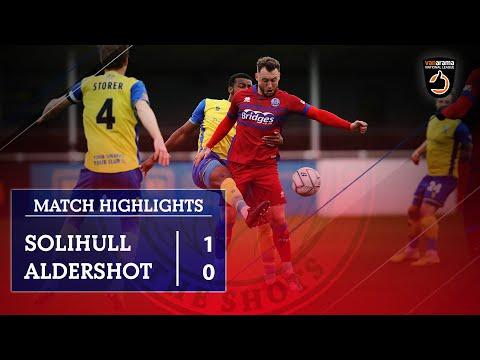 Solihull Aldershot Goals And Highlights