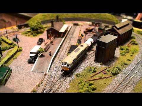 A small N gauge model railway layout – Janet's Reward by Jason Pierce