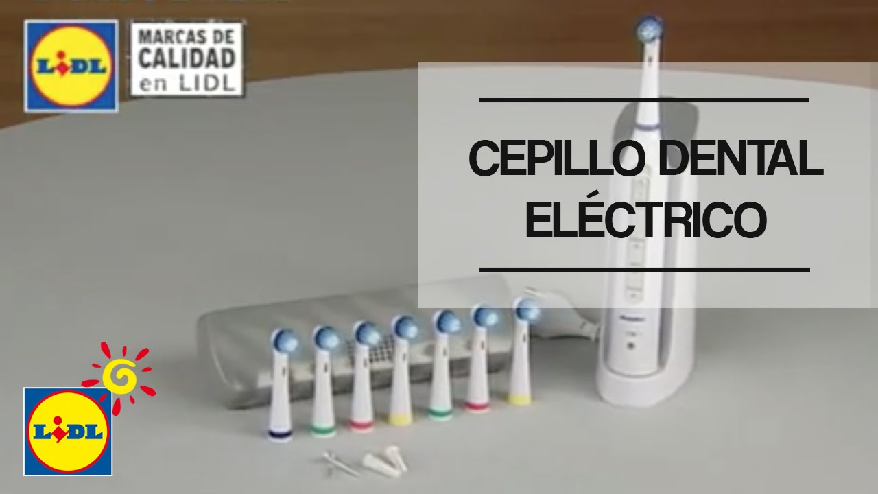 cepillo dental el ctrico lidl espa a youtube