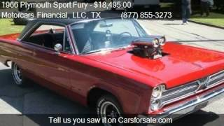 1966 Plymouth Sport Fury For Sale Coupe for sale in Headquar