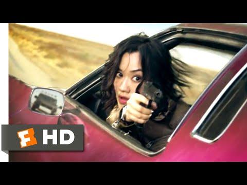 Diamond Cartel (2017) - Minigun Car Chase Scene (5/10)   Movieclips