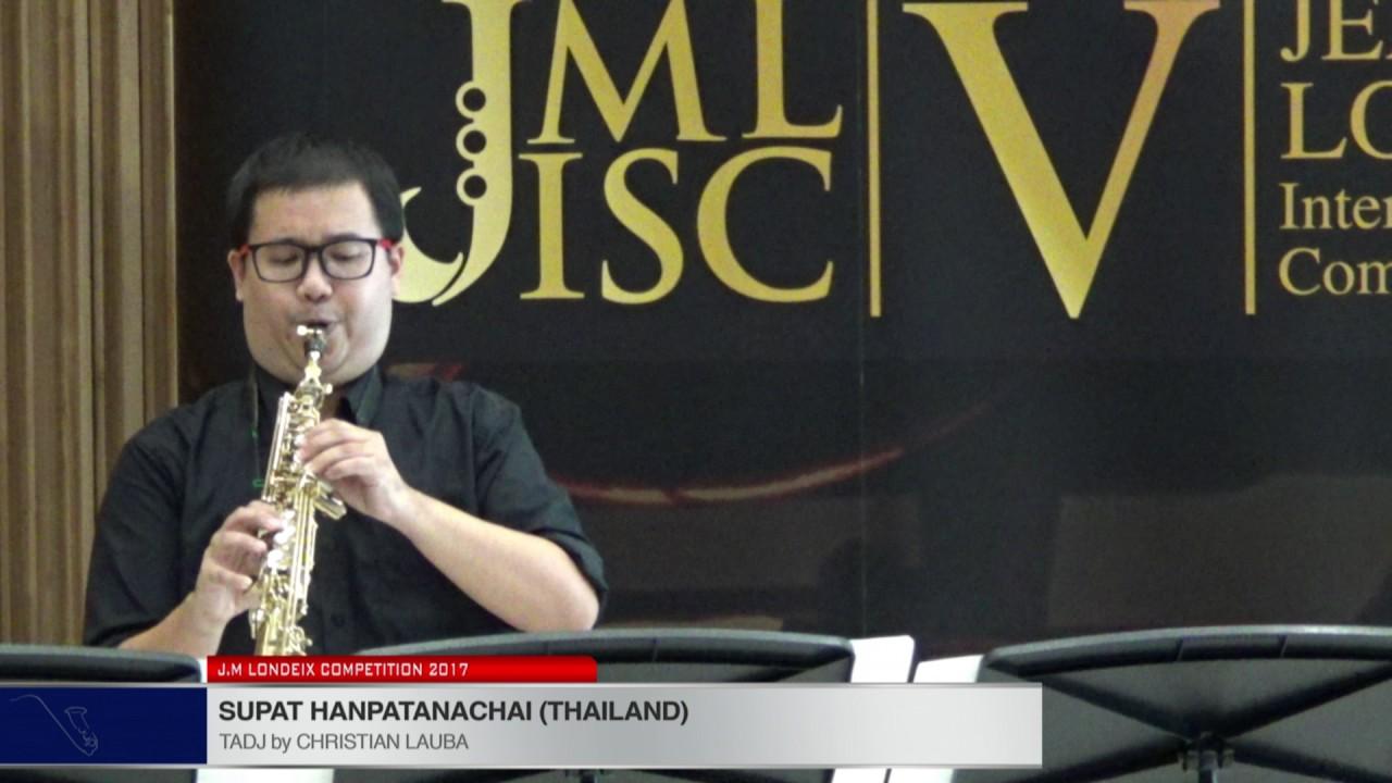 Londeix 2017 - Supat Hanpatanachai (Thailand) - Tadj by Christian Lauba