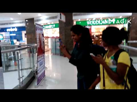 Augmented Reality Treasure Hunt @ The Grand Mall, Chennai