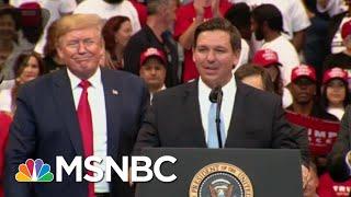 'No One's Surprised': Trump Ally, Gov. DeSantis Facing Vaccine Bribery Allegations