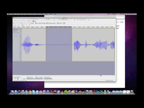 Advanced Editing in Audacity