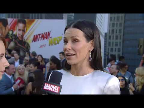 (22)Evangeline Lilly at Ant Man and The Wasp Premiere
