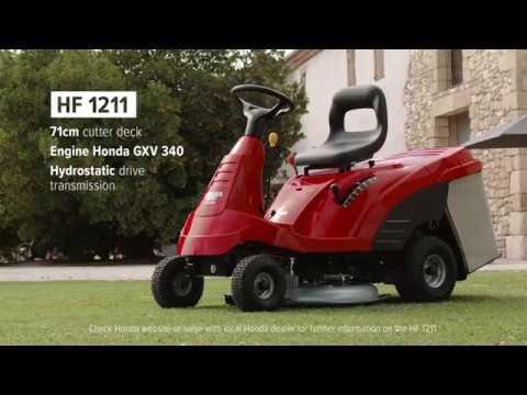 Discover Hondau0027s HF1211 Ride On Range