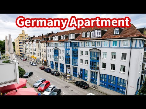 Living in Germany - MUNICH APARTMENT TOUR | Accommodation in