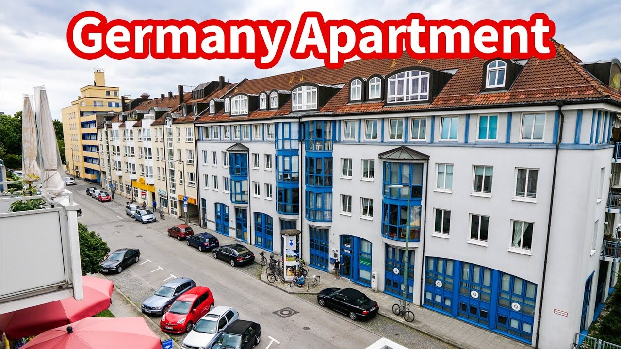 Living In Germany Munich Apartment Tour Accommodation For 164 Per Night