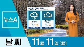 [날씨]이번 주 기온 변화 커…내일 아침 기온 서울 5…