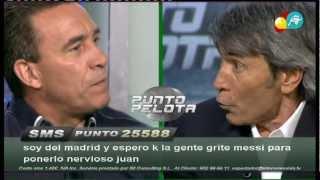 Pique entre Paco Buyo y Lobo Carrasco por el penalti de Pirlo