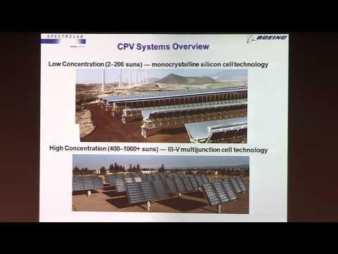 ReSET 2012 Technological Innovations Panel: Russ Jones (Spectrolab)