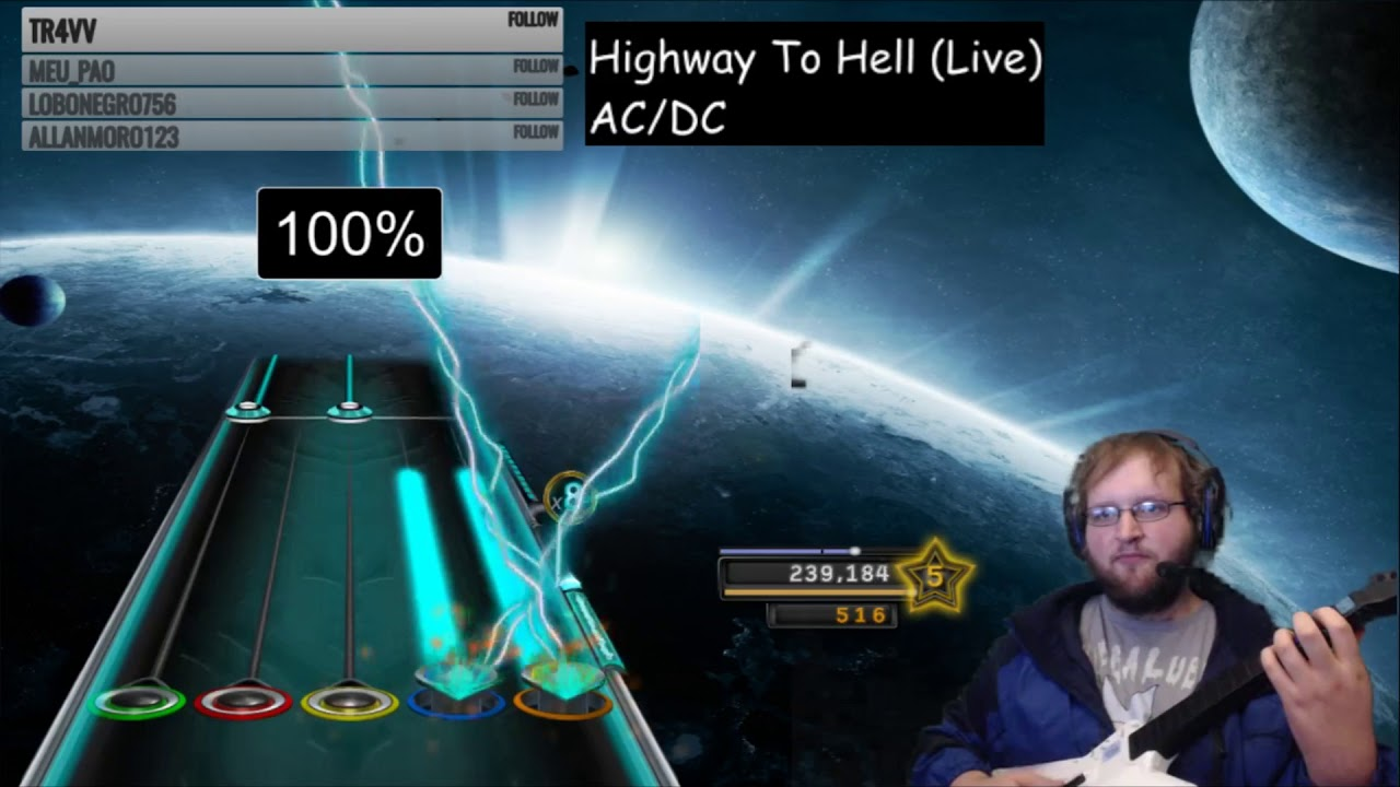 ac dc highway to hell live 100 fc clone hero youtube. Black Bedroom Furniture Sets. Home Design Ideas