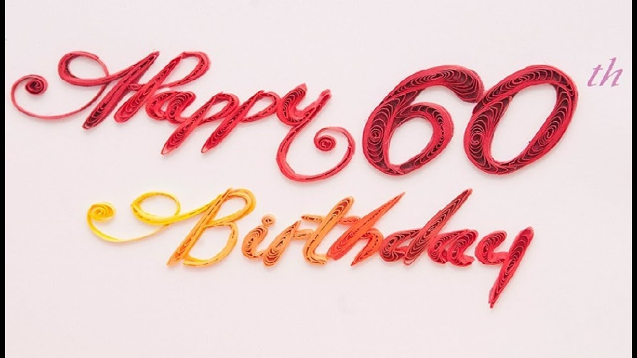 Happy 60th Birthday Wishes Quotes Messages