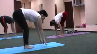 Хатха йога, групповое занятие/видеоурок 18 декабря 2013 года